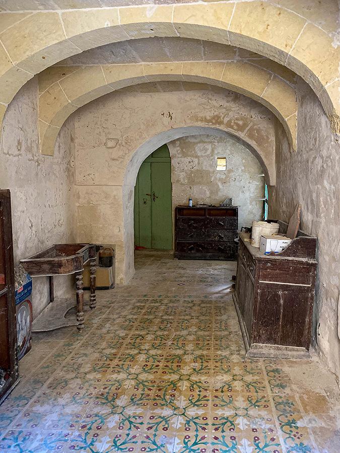 Farmhouse entrance hall